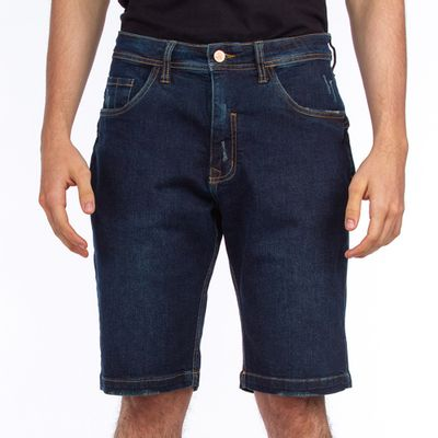 Bermuda-Jeans-Lost-Demin-Relaxed-Blue