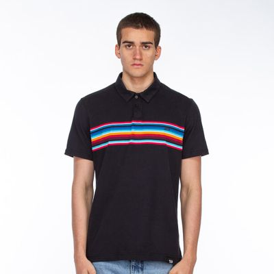 Polo-Lost-Neon-Stripes