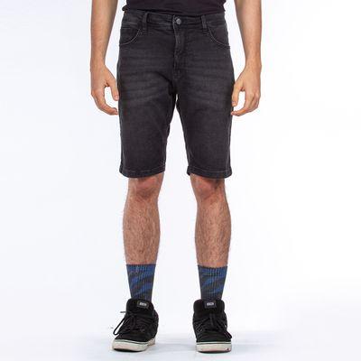 Bermuda-Jeans-Lost-Denim-Relaxed-Black