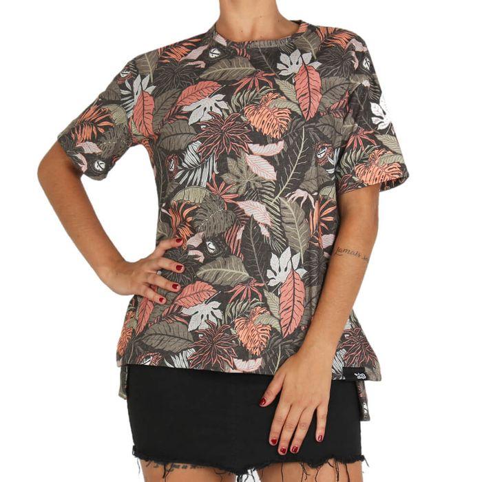 Camiseta-Lost-Feminina-Folhagens