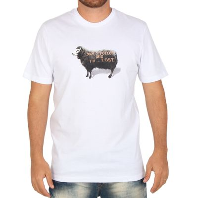 Camiseta-Lost-Don-t-Follow-Me-Sheep