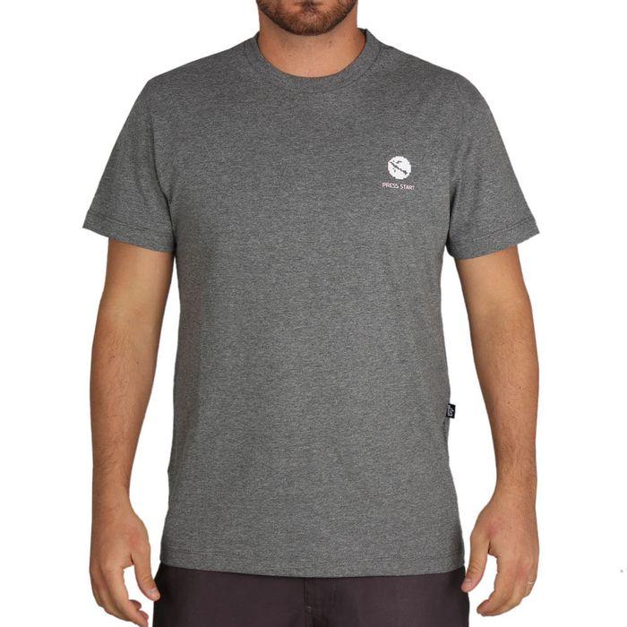 Camiseta-Lost-8-Bit-Logo
